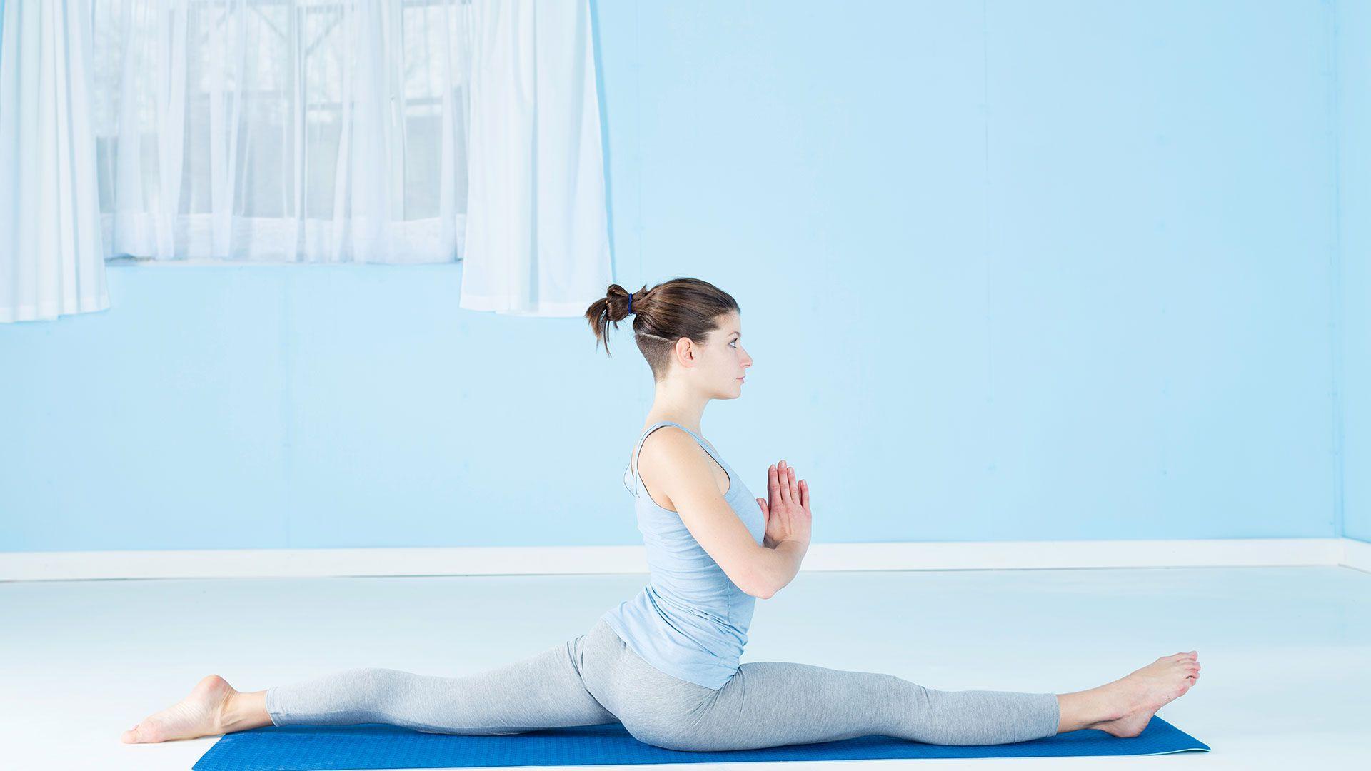 Йога для похудения активная
