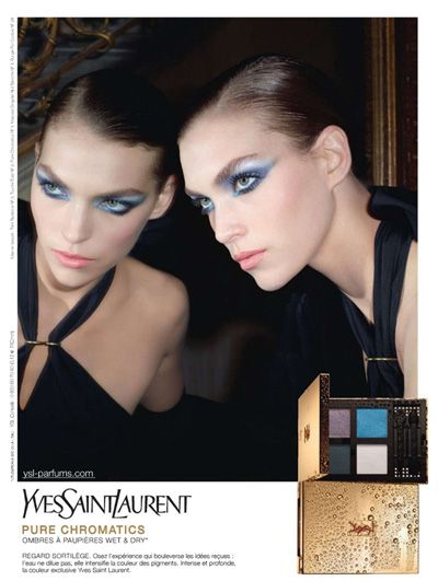 We love anything that features It-Girl Arizona Muse, including this edgy 2011 campaign for YSL Pure Chromatic Eye Colour Palettes.     http://www.graziadaily.co.uk/beauty/archive/2011/04/11/arizona-muse-for-yves-saint-laurent-s-pure-chromatic.htm