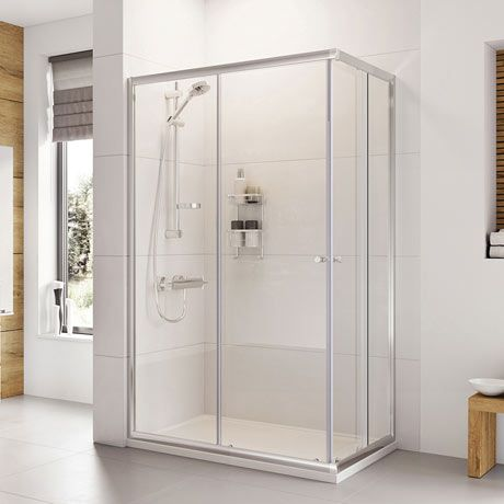 Roman Haven 1900mm Offset Corner Entry Shower Enclosure