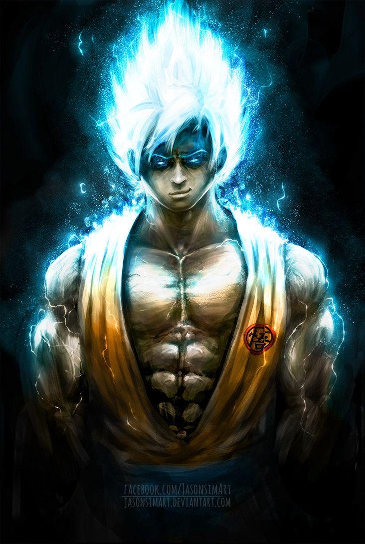 Goku Super Saiyan God By Jasonsimart On Deviantart Dragon Ball Super Manga Anime Dragon Ball Super Dragon Ball