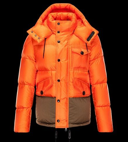 Prix de Homme Doudoune moncler CHAMONIX Manteau Capuche Orange officiel boutique