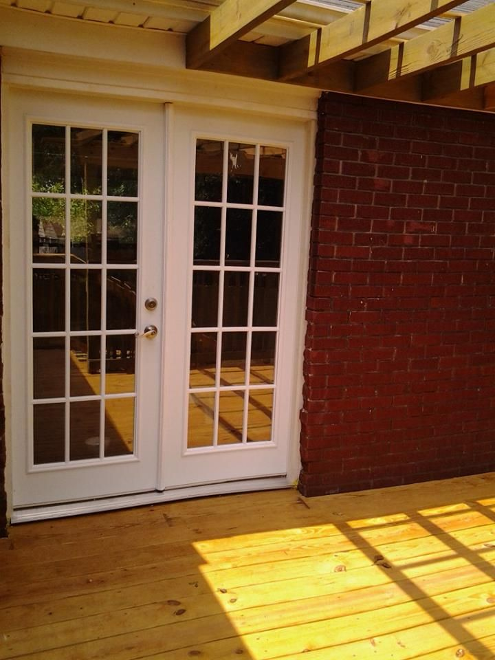 Karen Leigh S Lovely Front Porch French Doors