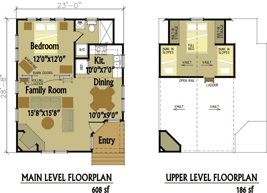 Enjoyable 17 Best Images About Cabin Floor Plans On Pinterest Bathroom Largest Home Design Picture Inspirations Pitcheantrous