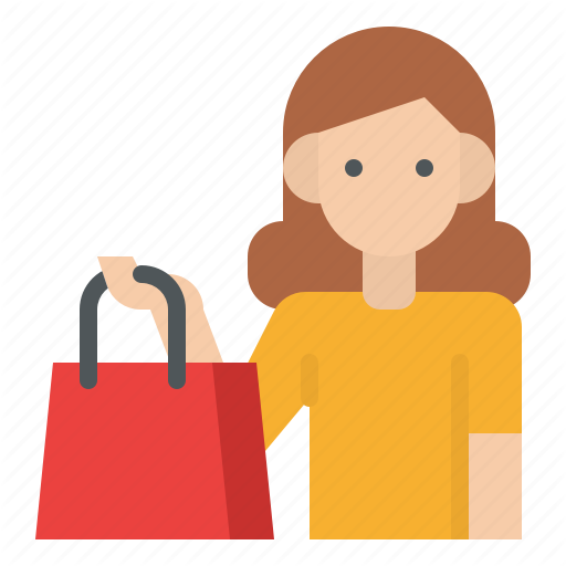 Buy Customer Shopping Icon Download On Iconfinder Shop Icon Icon Icon Design