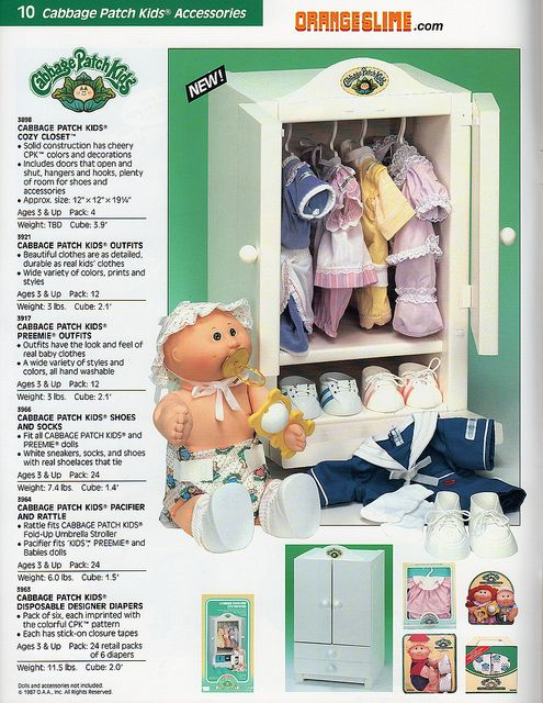 Cabbage Patch Kids Accessories Cabbage Patch Kids Patch Kids Cabbage Patch