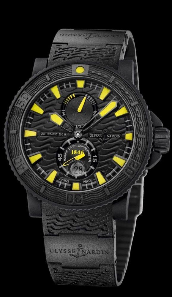 b02a1b2ed5d9 Ulysse Nardin Black Sea (Yellow)