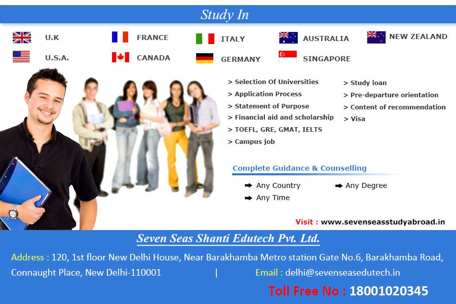 Abroad StudyServices for studying abroad are now available