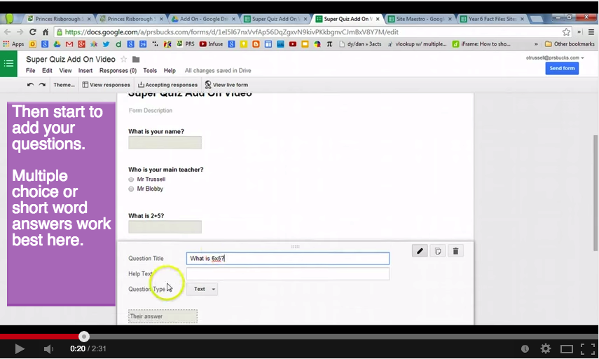 An Easy and Quick Way to Grade Quizzes on Google Drive