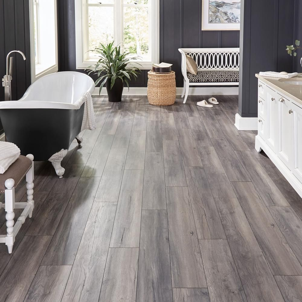 Home Decorators Collection EIR Waveford Gray Oak 12 mm
