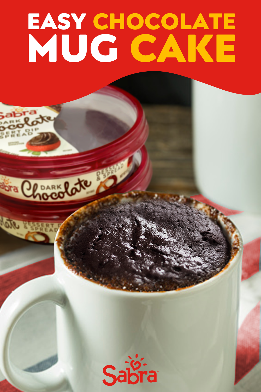 Midnight snack: Chocolate Mug Cake with Sabra in 2020 ...