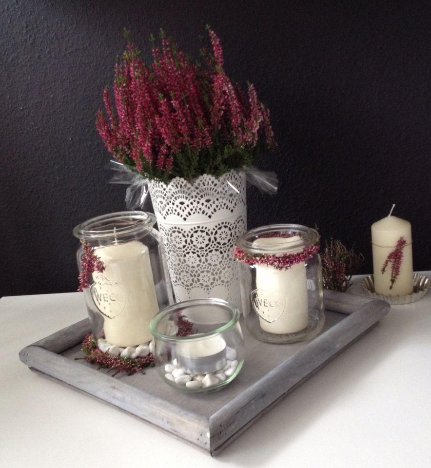 weckgl ser stuff to buy pinterest weckgl ser herbstdeko und herbst. Black Bedroom Furniture Sets. Home Design Ideas