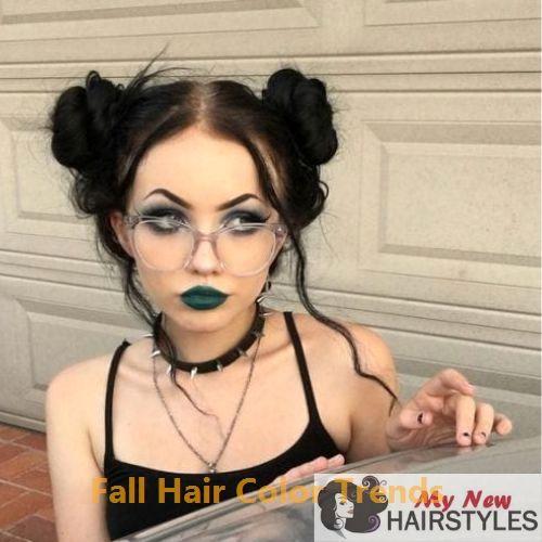 Gorgeous Fall Hair Color Ideas #fallhaircolors