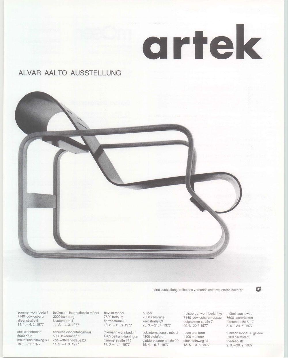 Alvar Aalto Chair Arredamento D Interni Oggetti Design