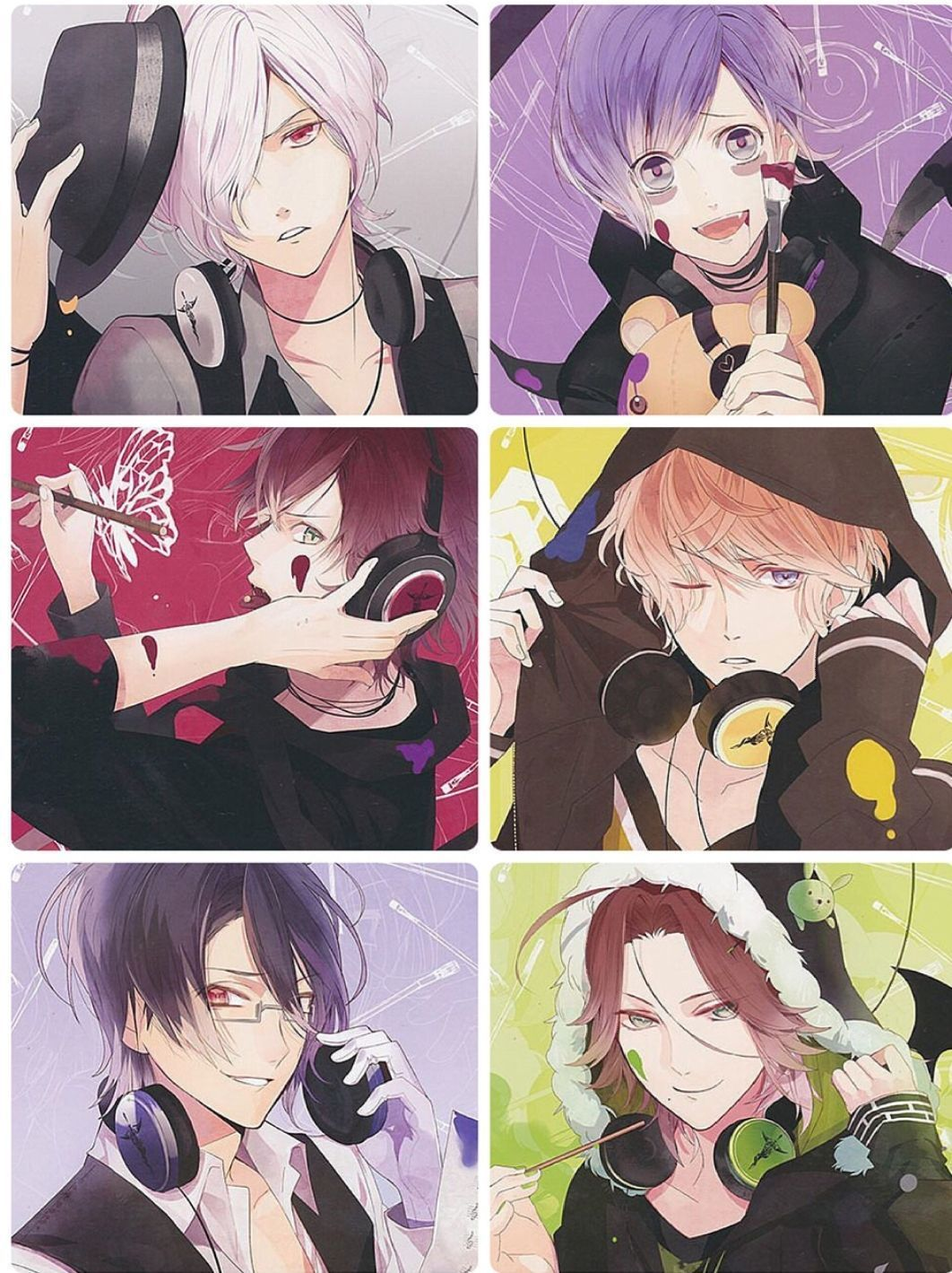 Yui's brother(diabolik lovers x male oc) - cover