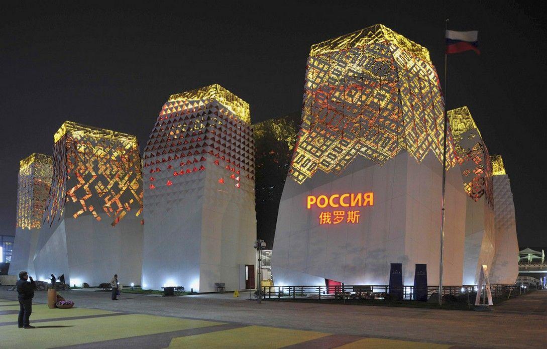 Russian Pavilion. Shanghai Expo 2010.