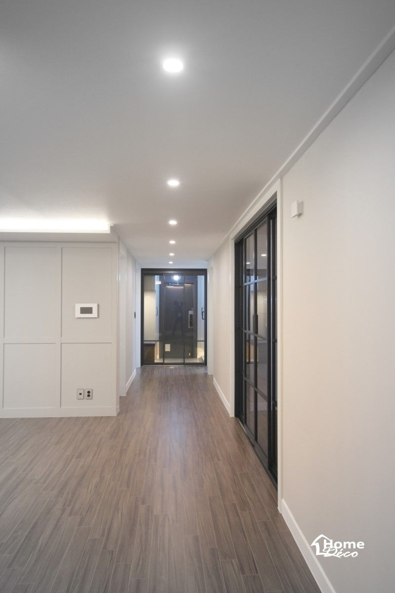 주방과 거실 분리 슬라이딩 도어 가벽 알파룸 펜트리 공간 꾸미기 인테리어는 홈데코 도어에서 네이버 블로그 현대 아파트 아파트 인테리어 디자인 거실