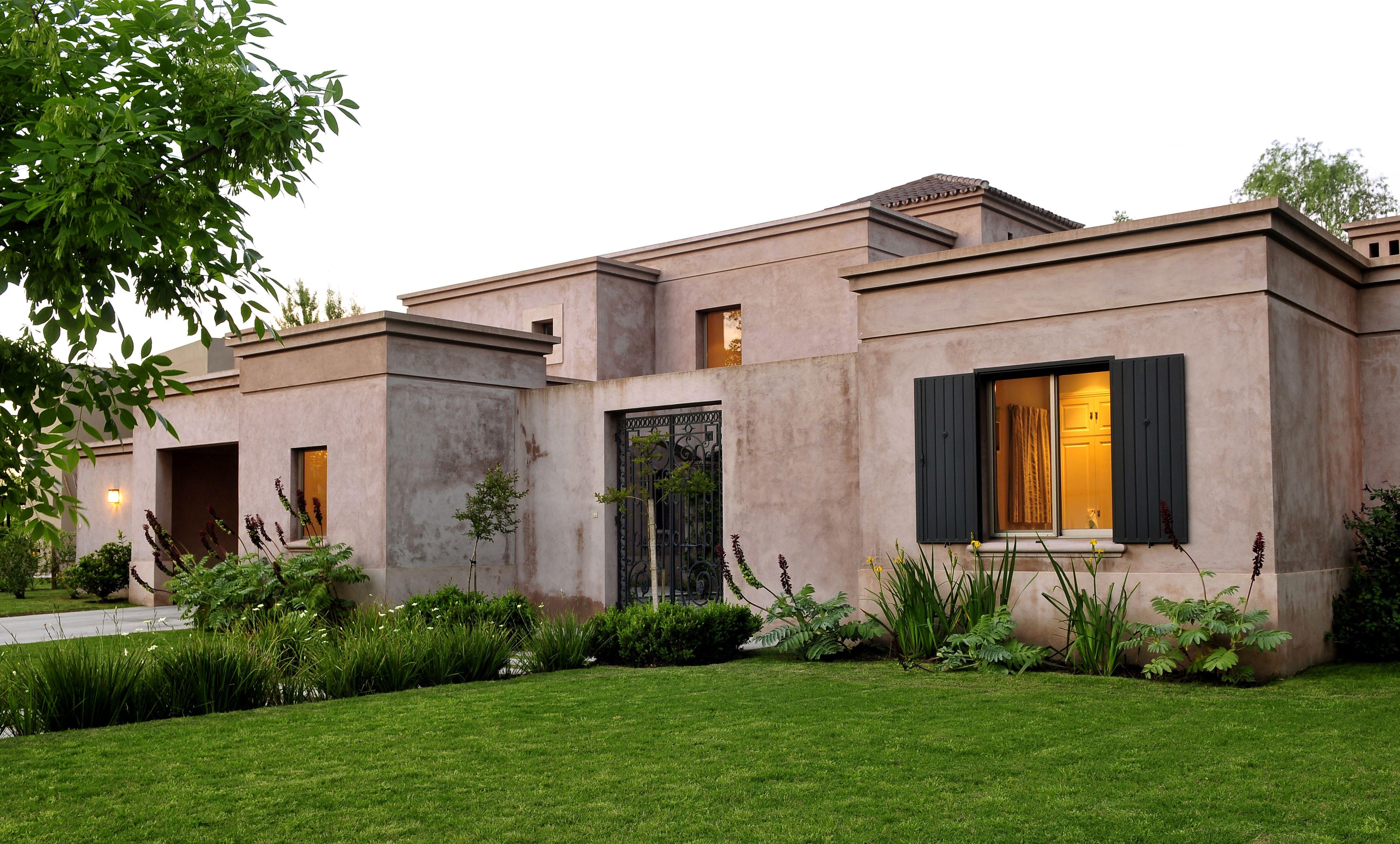 Arquitectura paisajismo ricardo pereyra iraola for Fachadas modernas para casas de campo