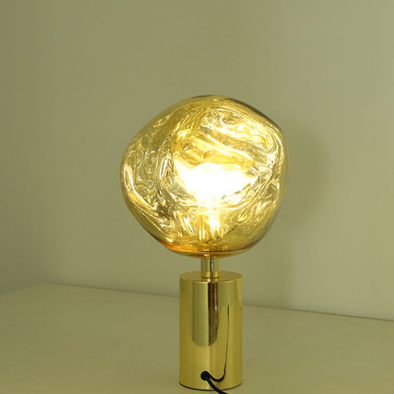 Modern Melt Led Table Lamp Replica Tom Dixon Gold Chrome Lamp Modern Table Lamp Design Gold Table Lamp