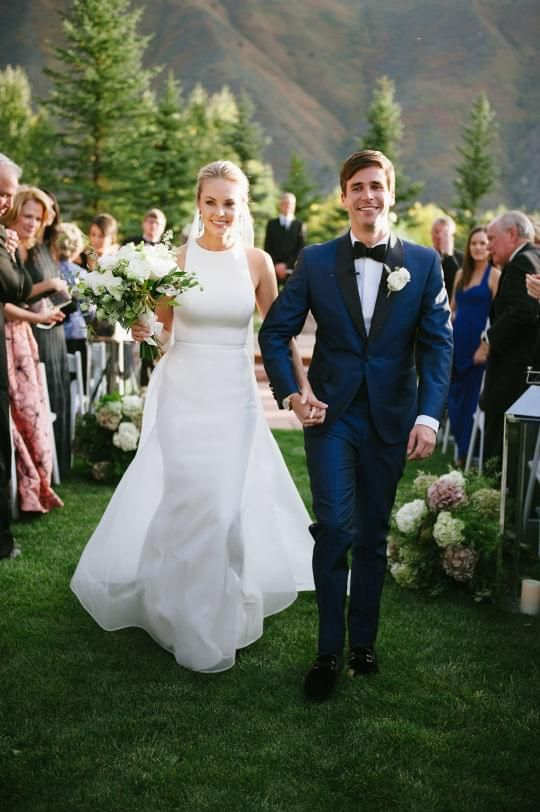 Weddings Get Inspired By This Natural Romance In Aspen Discover The Vendors Responsible For Stunning
