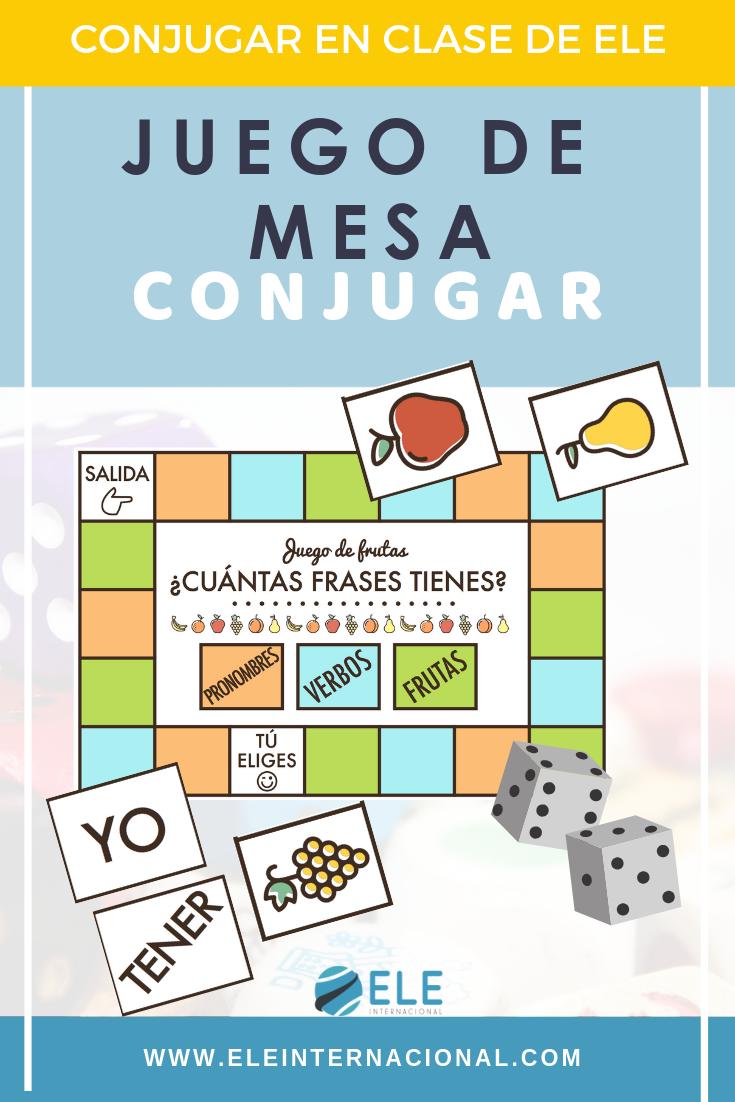 Juego De Mesa Para Conjugar En Clase De Español Profedeele Spanishteacher Teachmore Juegos De Gramática Juegos De Lenguaje Juegos Didacticos De Matematicas