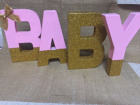 This Listing Is For One Paper Mache Cardboard Letter Each Letter Can Be Painted To Color Of Choice With Monogram Letters Cardboard Letters Party Decorations