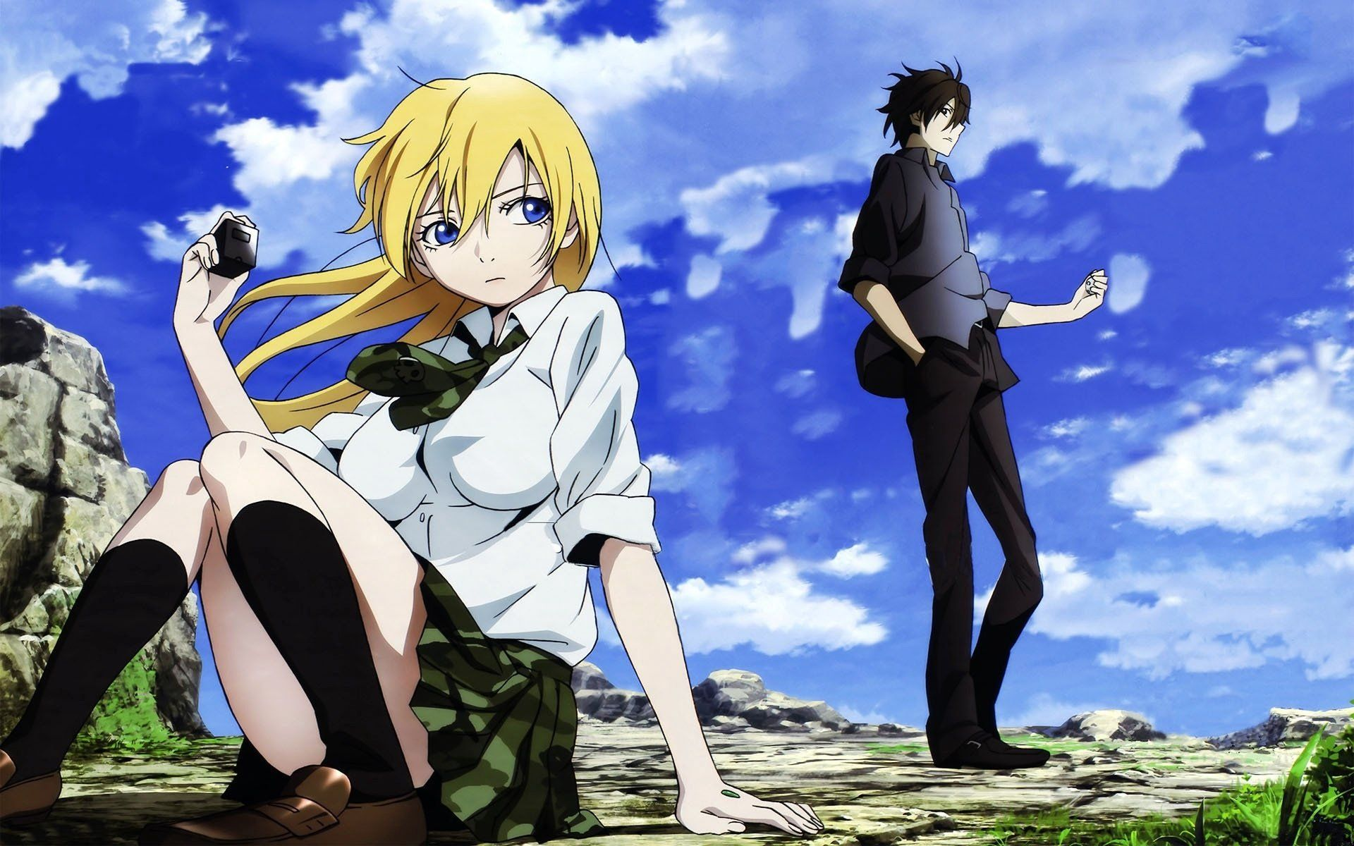 13 Himiko Btooom Hd Wallpapers Backgrounds Wallpaper Abyss