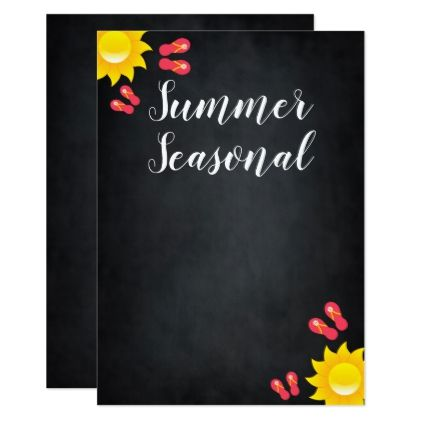 Summer Sun Daisy Flower Season Event Card  Summer Gifts Season