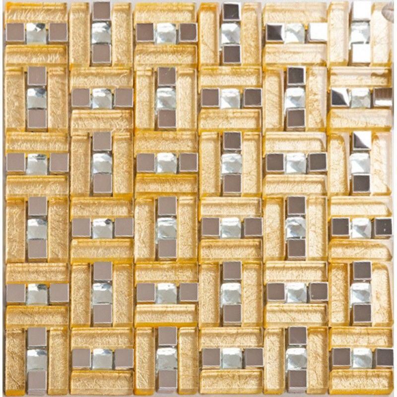 Pin de Josep Cloris en metal glass blend mosaic tile Pinterest