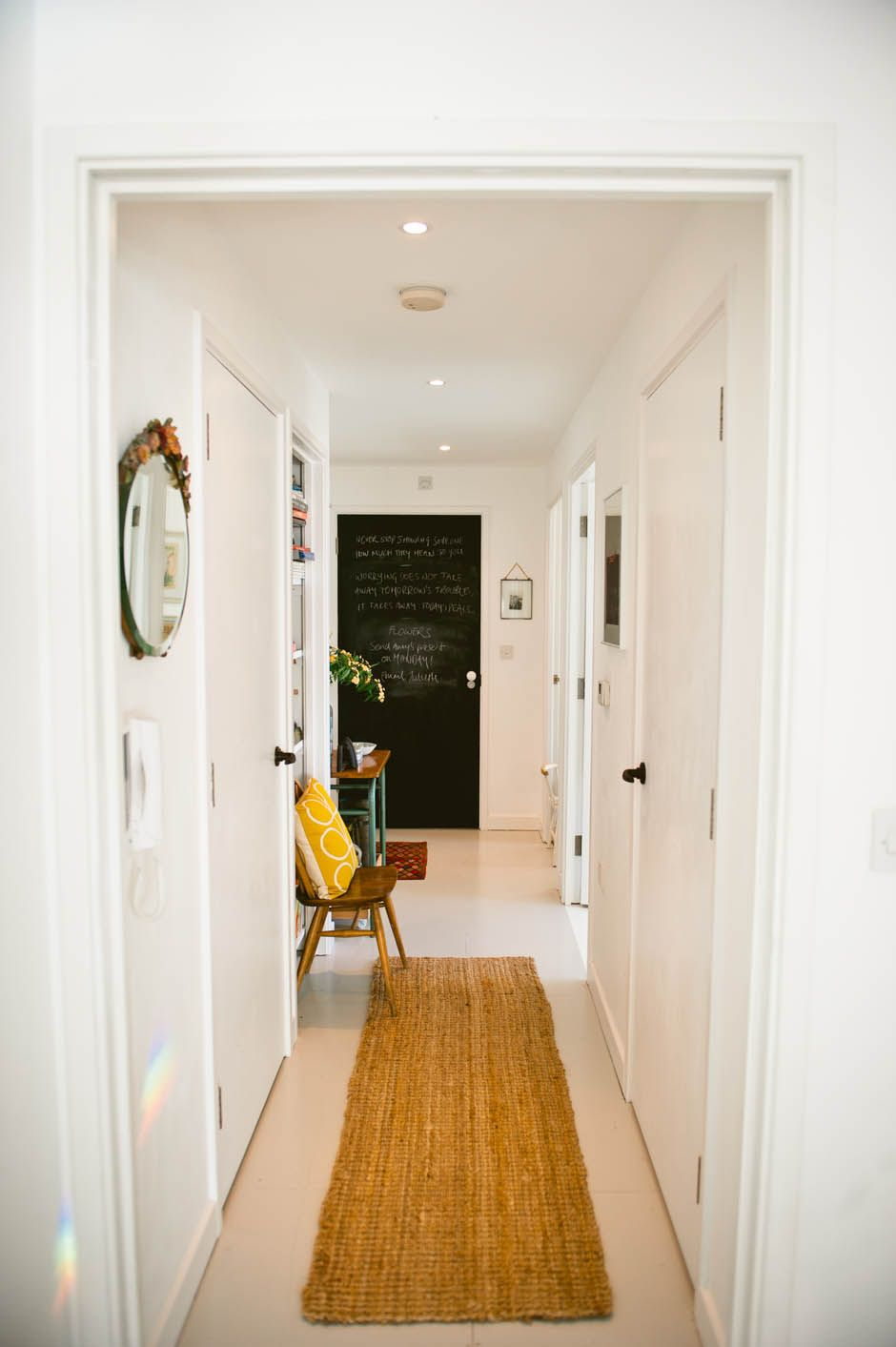 Hallway makeover photographed by katharinepeachey.co.uk | Apartment ...
