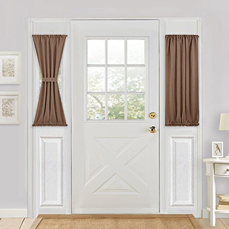 Sliding Glass Door Curtain Panel Pony Dance Energy Efficient