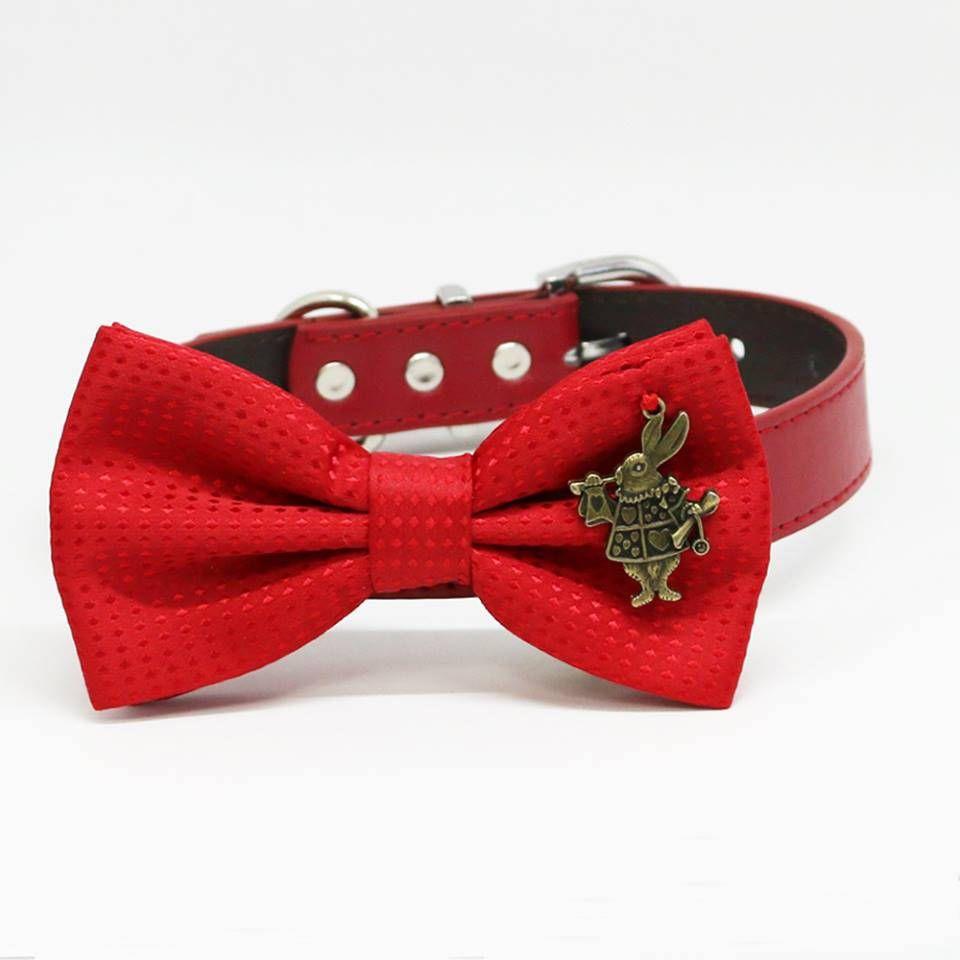 d8540d01d896 Blood Splatter Bow Tie White Self Tie Red White Horror Film Bloody Bowtie  Wedding Boy Men Extra Long Freestyle Adjustable Accessory Goth Tie