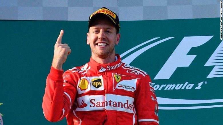 Australian Gp: Ferrari's Sebastian Vettel Beats Lewis Hamilton In Season Opener #AustralianGrandPrix