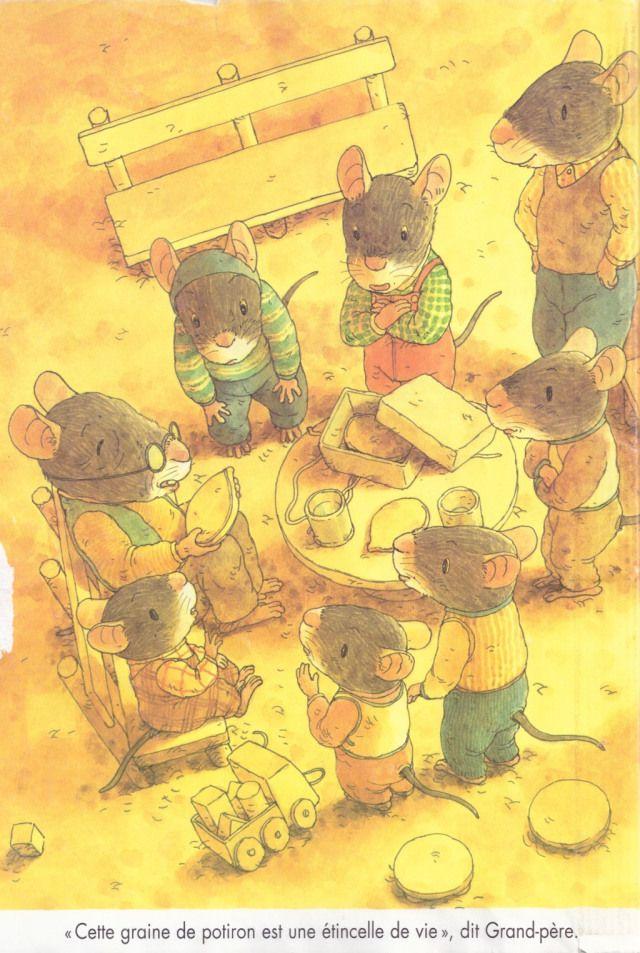 Kazuo Iwamura En 2019 Illustration Souris Livre Enfant Et