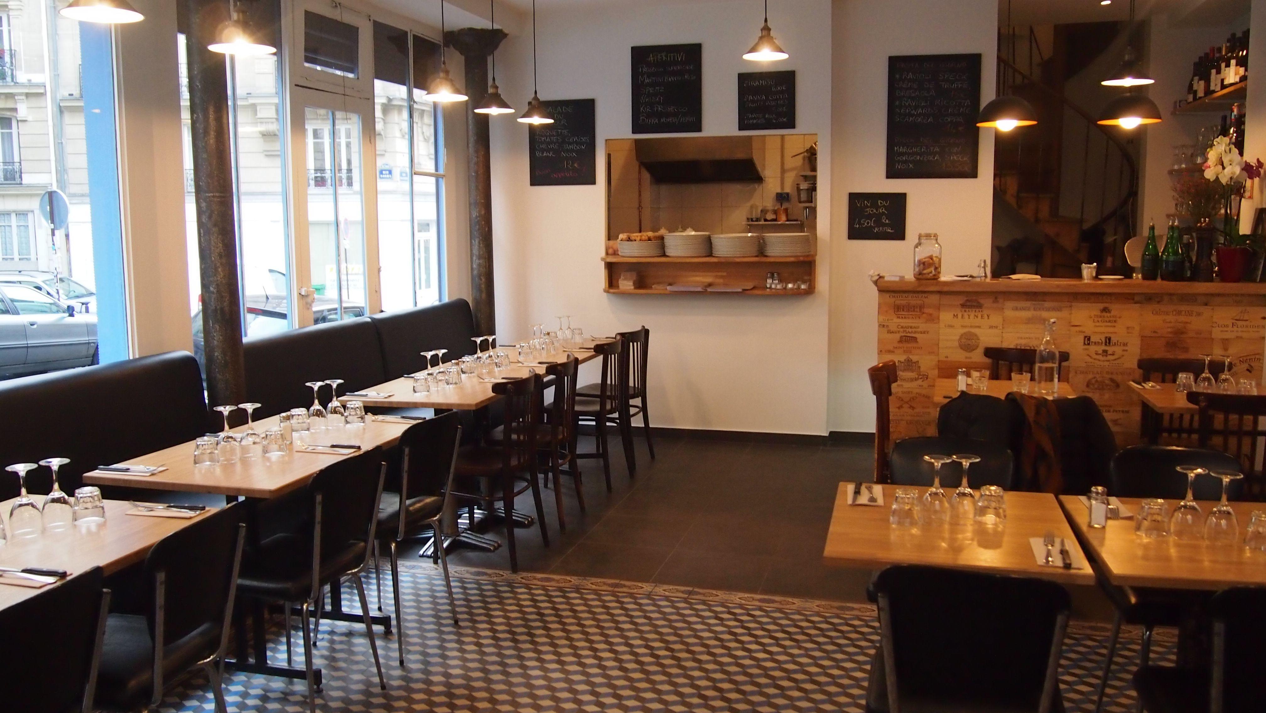 Pizzeria In Bocca Al Lupo 14 Rue Francoeur 75018 Paris O2r