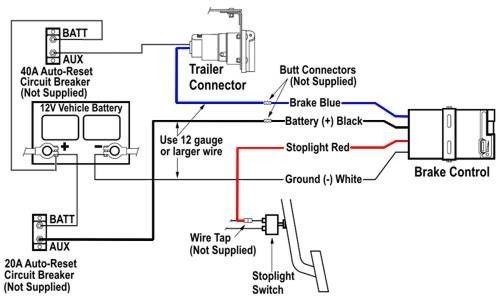 Wiring Diagram Tekonsha Voyager Brake Controller 39510 Tekonsha Trailer Wiring Diagram Electrical Diagram