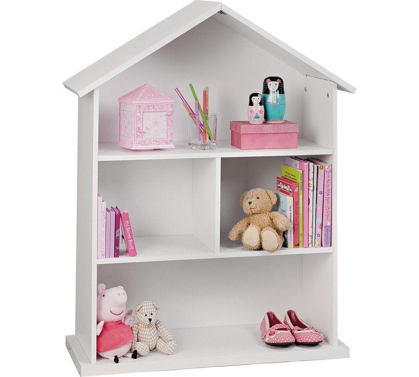 Buy Argos Home Mia White Dolls House Bookcase Toy Boxes Dollhouse Bookcase Childrens Bookcase House Shelves