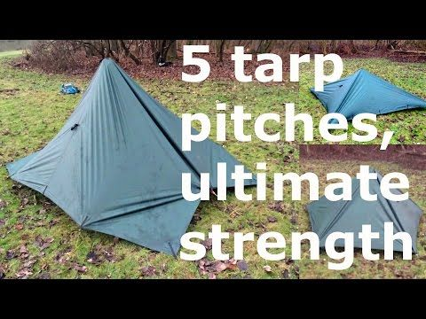 Tarp Camping In Awful Weather Yes It 39 S Possible With These 5 Enclosed Setups Youtube Tarp Shelters Camping In The Woods Bushcraft