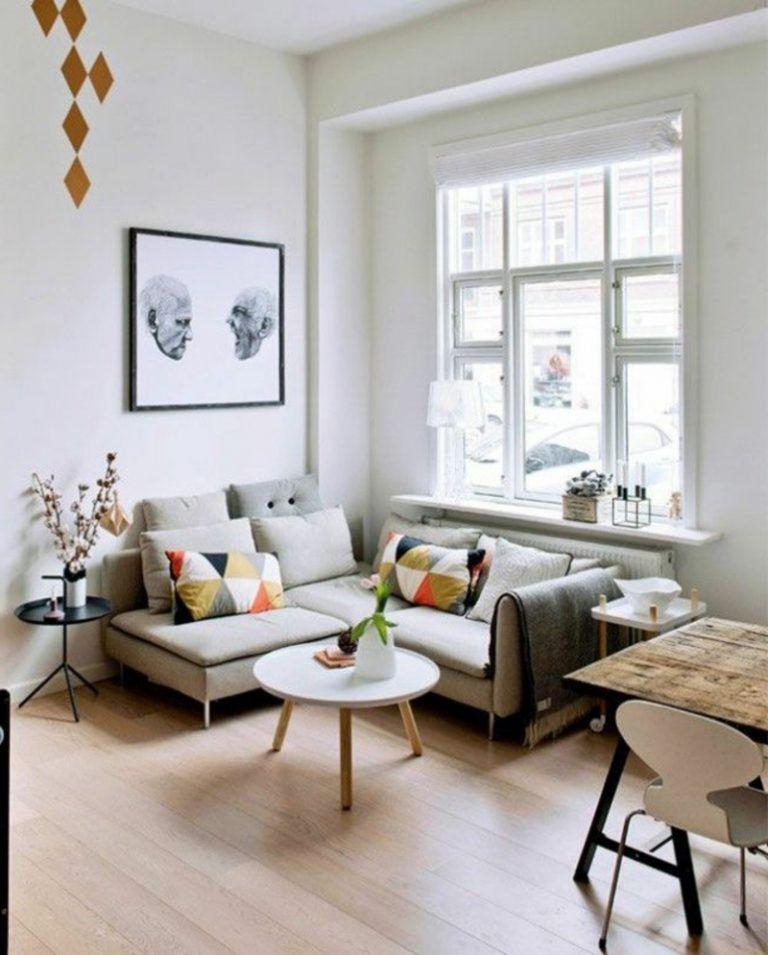 Kleines Wohnzimmer gestalten Wie kann es schön werden Einrichten