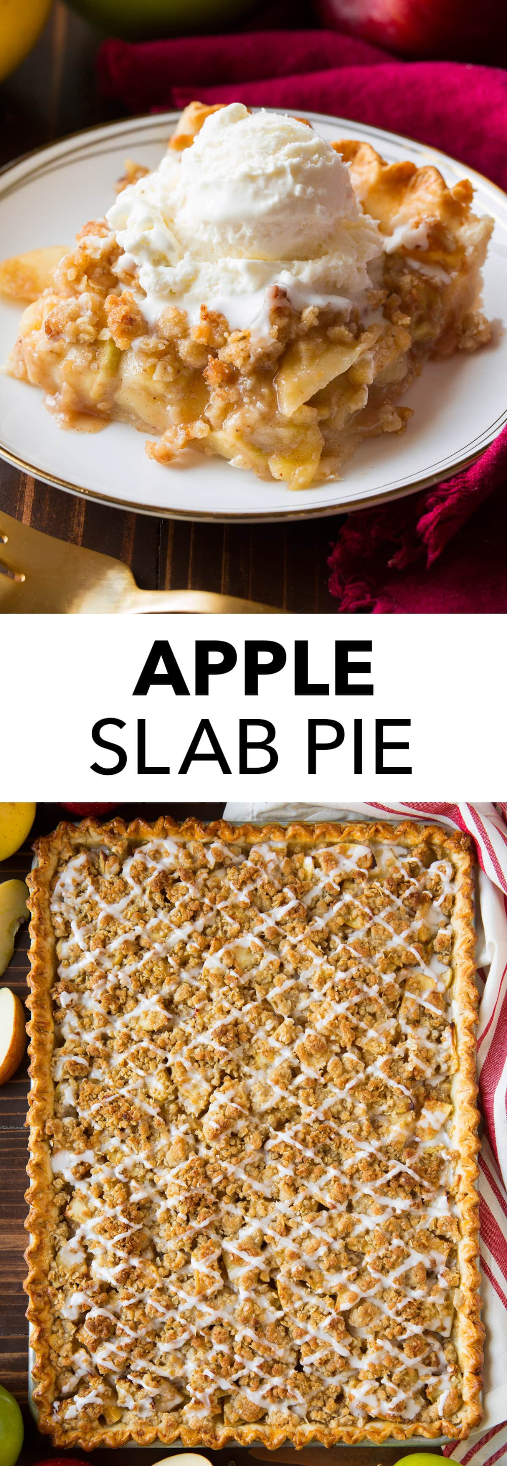 Apple Slab Pie (with Crumb Topping) - Cooking Classy -   18 thanksgiving desserts for a crowd ideas