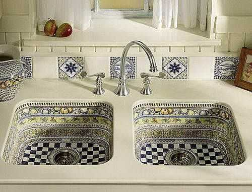 Modern Kitchen Sinks Adding Decorative Accents To Functional