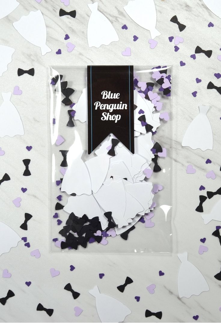 Purple and lavender wedding decor idea - wedding dress and bow tie ...