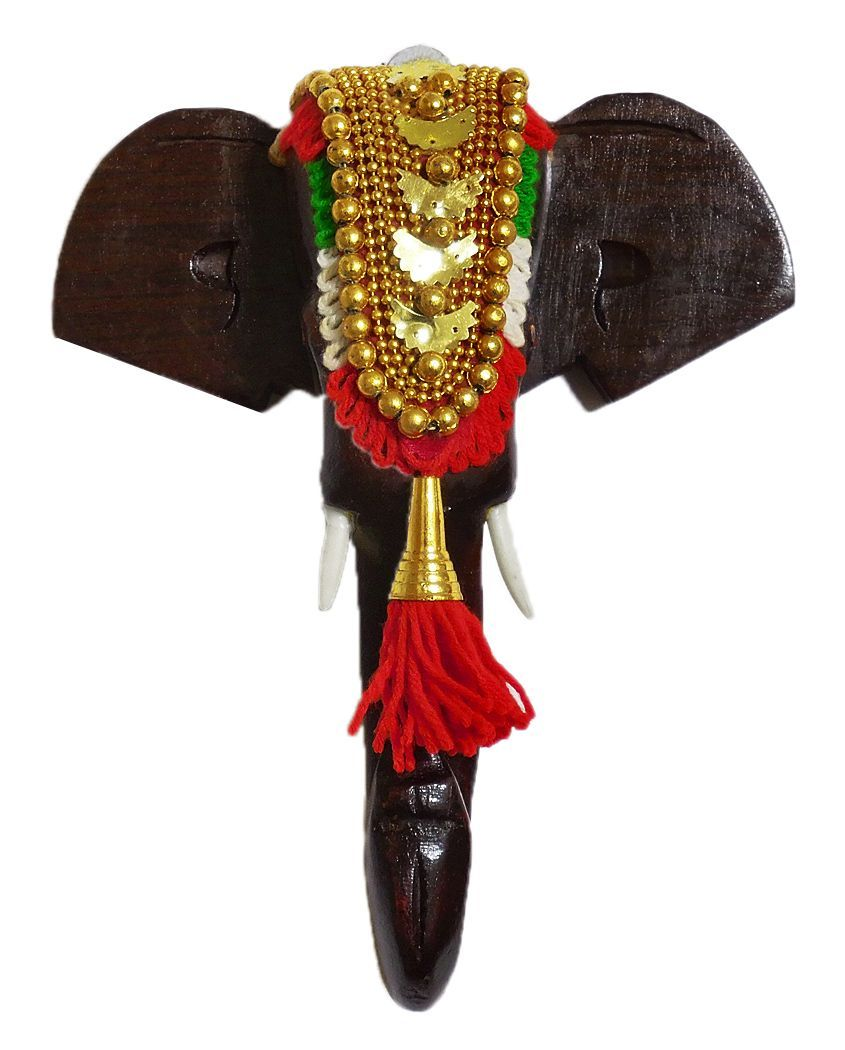 Kondapalli toys images  Wood Carved Decorated Elephant Head  Wall Hnaging  Wood Craft from