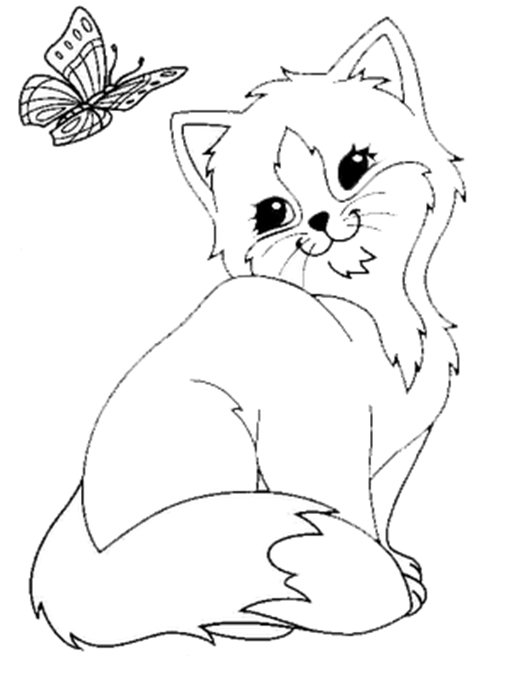 Katze Ausmalbild Ausdrucken In 2020 Ausmalbilder Katzen Ausmalbilder Ausmalbilder Tiere