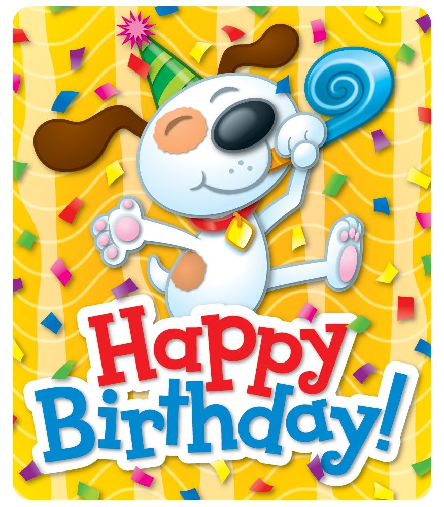 Sticker Of Happy Birthday
