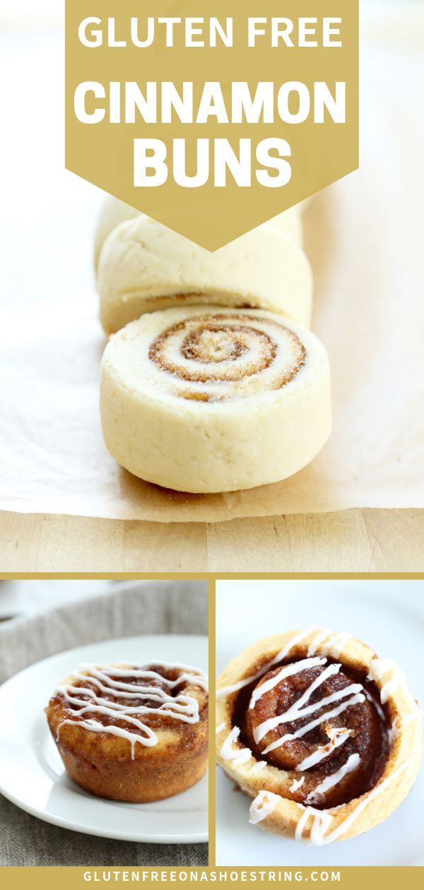 Yeast Free Gluten Free Cinnamon Buns - ready in a flash! #glutenfreebreakfasts