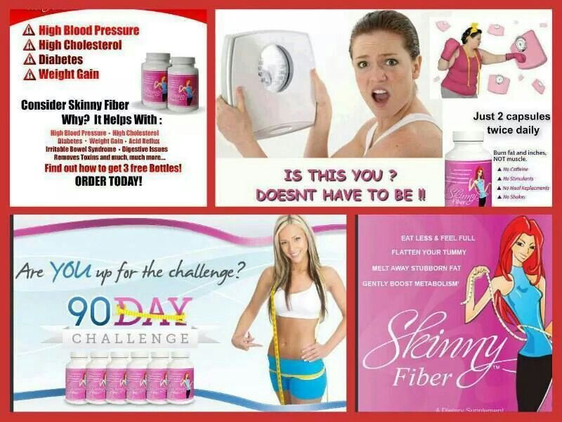 Are you ready to change your life? All Natural, No Stimulants, 90 day empty bottle money back guarantee! Start your first 90 day challenge and get committed to yourself for yourself, and get your body in a position that it's healthy to lose weight by starting today. Place your order here for Skinny Fiber———>>>>http://cmichael.sbcspecial.com/  ***Our SPECIALS!!!  1 month supply - $59.95, or  Buy 2 Get 1 FREE - $119.90, ($39.97 per bottle) or the BEST DEAL -- Buy 3 Get 3 FREE for $179.85…