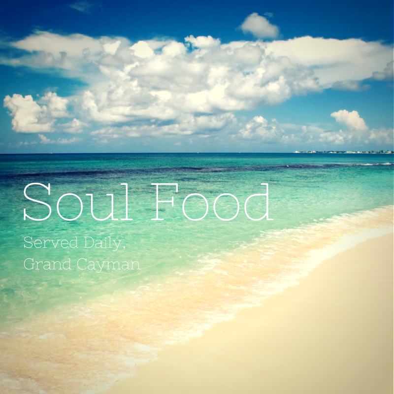 Served daily at Serenity Now in Grand Cayman.   #CaymanInspiredQuotes #beach