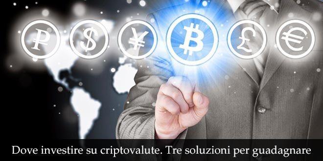 come ottenere denaro bitcoin sul conto bancario dove investire sulle criptovalute