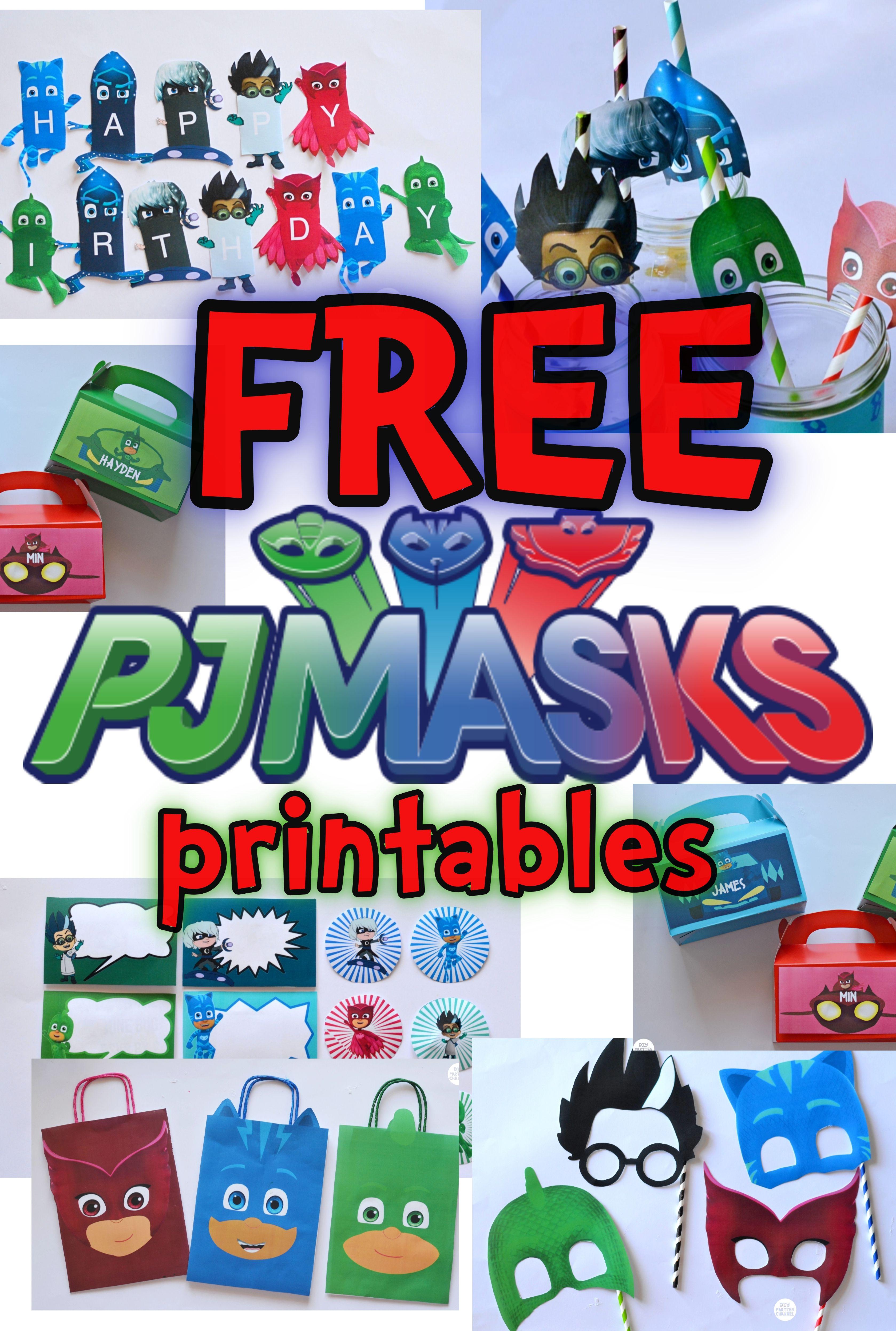 Pj Masks Printable Images