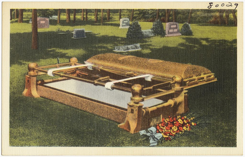 Sell the Wilbert Burial Vault and create future sales thru
